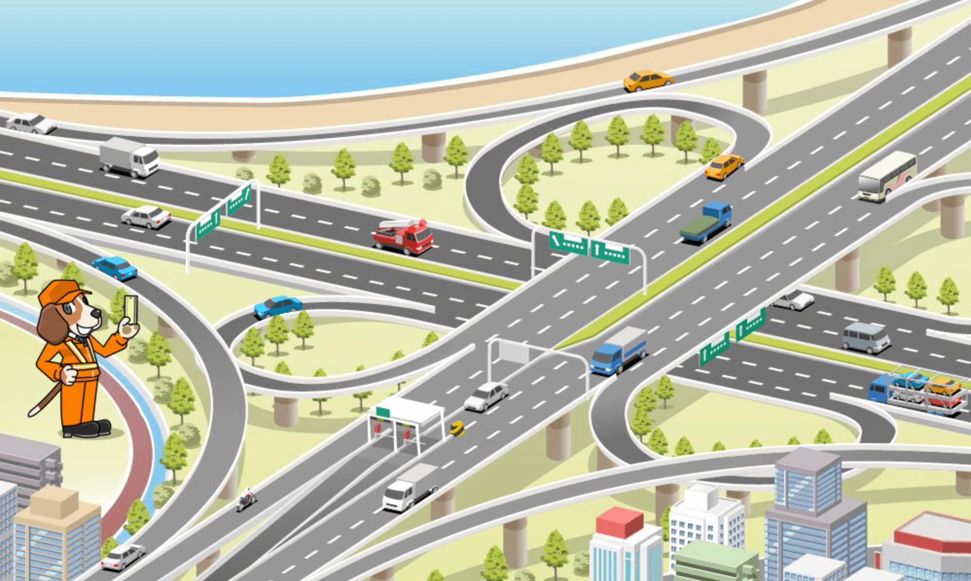 ユキサキナビ】全国の高速道路IC/SA・PAを探す